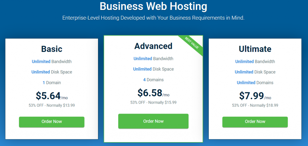 host winds business hosting