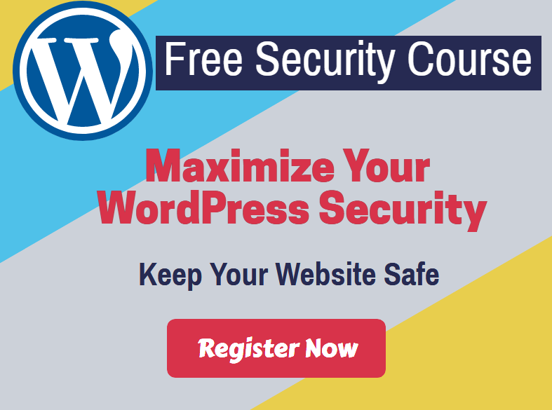 Free WordPress security course